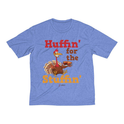 Huffin' for the Stuffin' Men's Short Sleeve Tech Shirt T-Shirt Printify Sport-Tek True Royal Heather XS