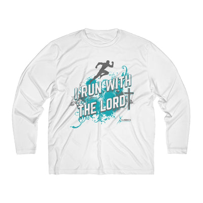 I Run With the Lord Men's Long Sleeve Tech Shirt