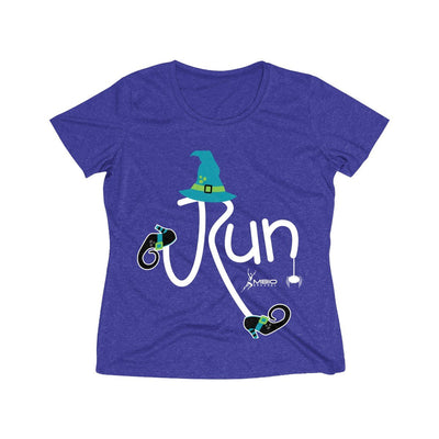 Run Halloween Women's Short Sleeve Tech Shirt