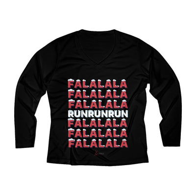 Fa La La Run Women's Long Sleeve Tech Shirt