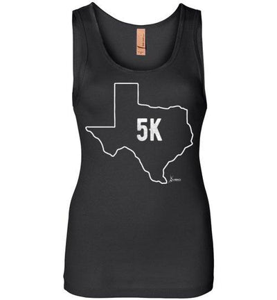 Texas Outline 5K Women's Jersey Tank