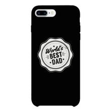World's Best Dad Black Phone Case