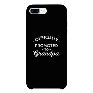 Officially Promoted To Grandpa Black Phone Case