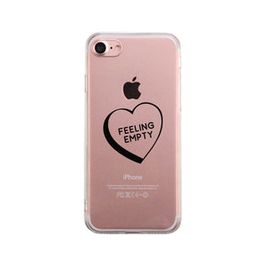 Feeling Empty Heart Phone Case