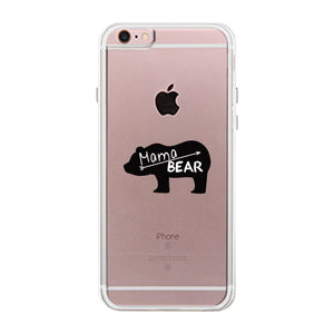 Mama Bear Clear Phone Case Unique Design Case For Baby Shower