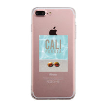 California Pool Sunglass Clear Phone Case