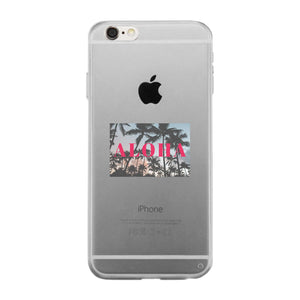 Aloha Clear Phone Case