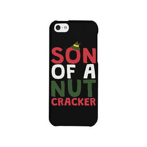 Son Of A Nut Cracker Cute Christmas Phone Case Great Gift Idea For X-mas