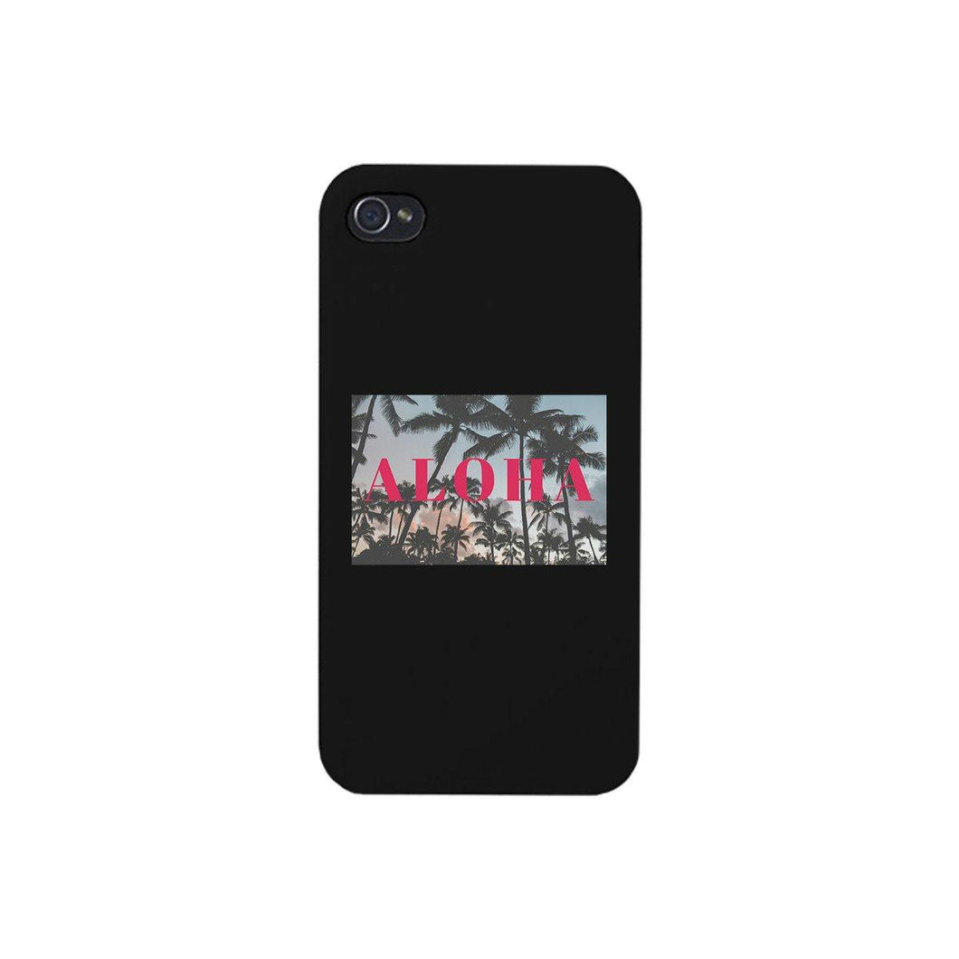 Aloha Black Phone Case