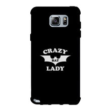 Crazy Bat Lady Black Phone Case