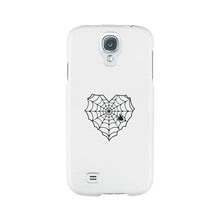 Heart Spider Web White Phone Case