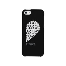 Attract Female Symbols-Right Black Phone Case