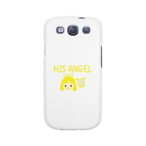 His Angel-Right White Phone Case