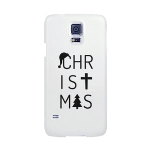 Christmas Letters White Phone Case