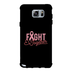 Fight Together Breast Cancer Awareness Black Phone Case