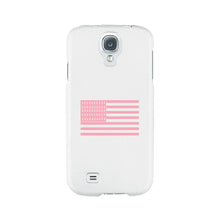 Breast Cancer Awareness Pink Flag White Phone Case