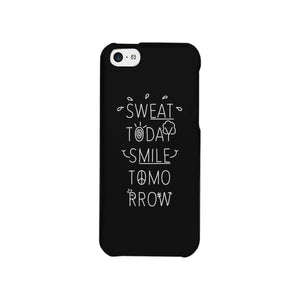 Sweat Smile Phone Case Funny Workout Gift Phone Case
