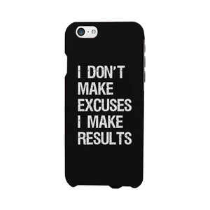 Excuses Results Phone Case Workout Gift Phone Case