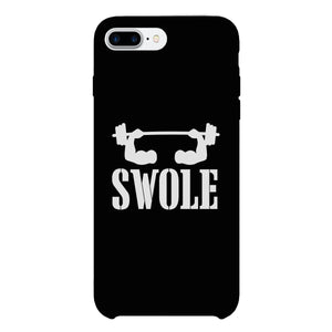 Swole Mates-LEFT Phone Case Funny Couples Matching Case Slim Fit