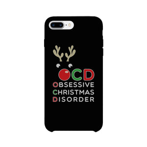 Rudolph OCD Phone Case Ultra Slim Cute Christmas Gift For Friends