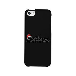 Believe Santa Hat Phone Case
