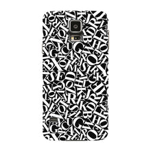 Alphabets Pattern Phone Case Samsung Galaxy S5 case
