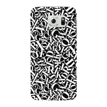 Alphabets Pattern Phone Case Samsung Galaxy S6 Edge case