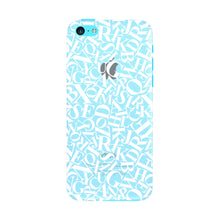 Alphabets Pattern Phone Case iPhone 5C case