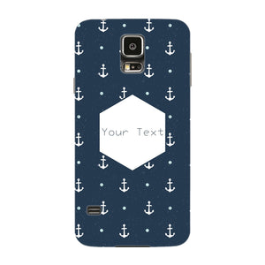 Anchor Away Custom Phone Case Samsung Galaxy S5 case