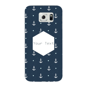 Anchor Away Custom Phone Case Samsung Galaxy S6 Edge case