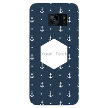 Anchor Away Custom Phone Case Samsung Galaxy S7 Edge case