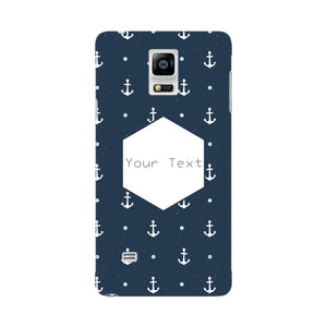 Anchor Away Custom Phone Case Samsung Galaxy Note 4 case