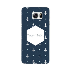 Anchor Away Custom Phone Case Samsung Galaxy Note 5 case