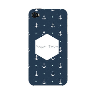 Anchor Away Custom Phone Case iPhone 4S case