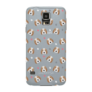 Beagle Love Phone Case Samsung Galaxy S5 case