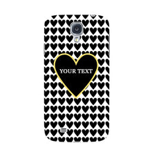 Black Hearts Custom Case Samsung Galaxy S4 case