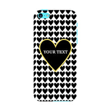 Black Hearts Custom Case iPhone 5C case