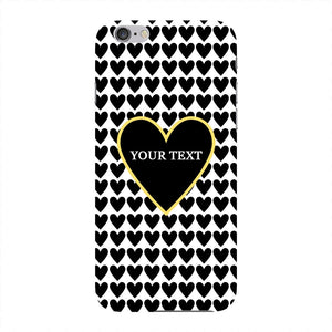Black Hearts Custom Case iPhone 6 case