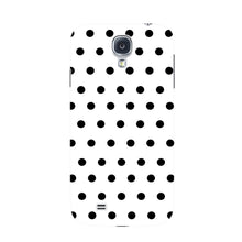 Black Polka Dots Phone Case Samsung Galaxy S4 case