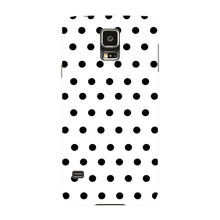 Black Polka Dots Phone Case Samsung Galaxy S5 case