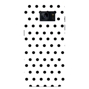 Black Polka Dots Phone Case Samsung Galaxy S7 Edge case