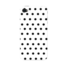 Black Polka Dots Phone Case iPhone 4S case