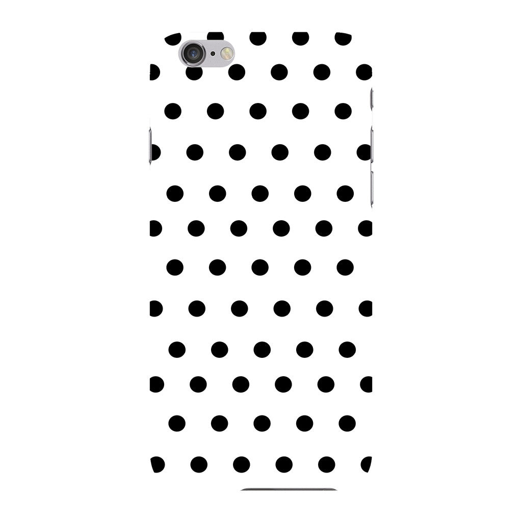 Black Polka Dots Phone Case iPhone 6 case