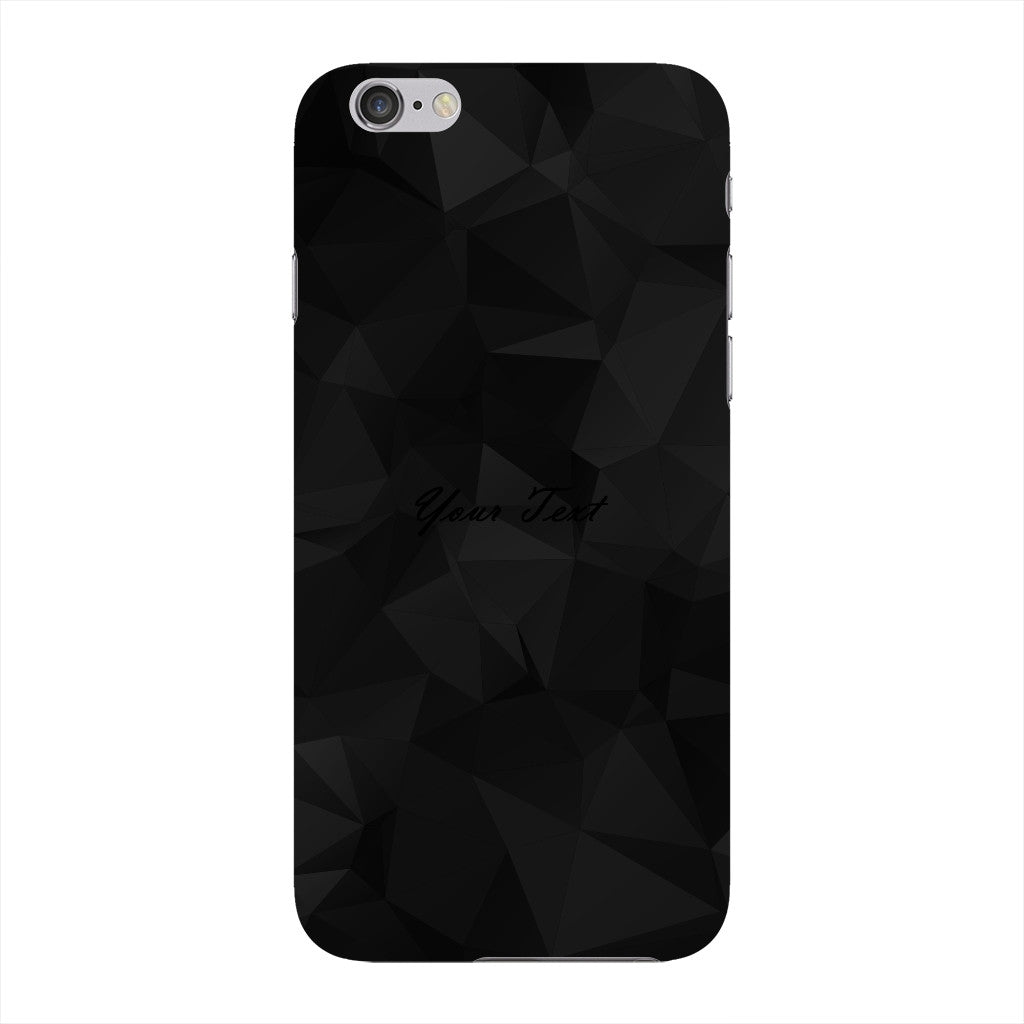 Black Triangles Pattern Custom Phone Case iPhone 6 case