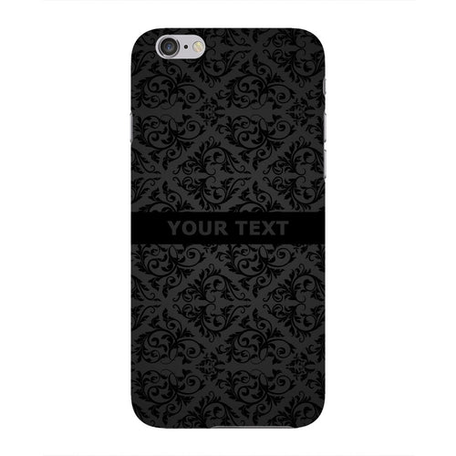Black Wallpaper Pattern Custom Phone Case iPhone 6 case