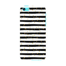 Black & White Stripes With Gold Glitter Phone Case iPhone 5C case