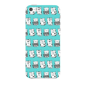 Blue Funny Cats Phone Case iPhone 5 case