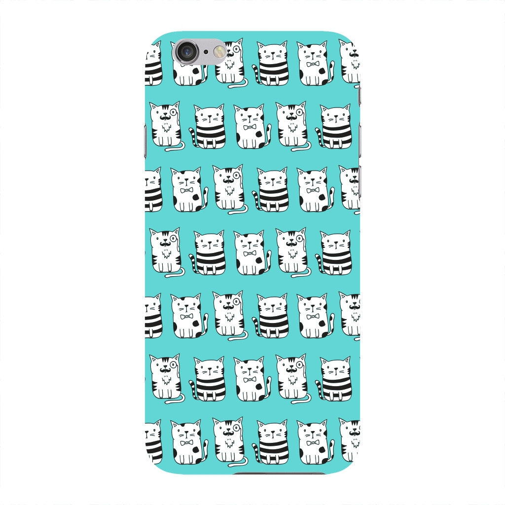 Blue Funny Cats Phone Case iPhone 6 case