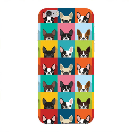 Boston Terriers Pattern Phone Case iPhone 6 case