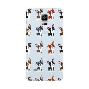 Boston Terriers Phone Case Samsung Galaxy Note 4 case